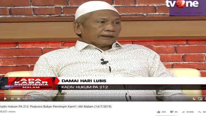Pertanyakan Pertemuan Prabowo dan Jokowi, PA 212: Kalau Ada yang Tak Sesuai dengan Ulama Kita Tolak
