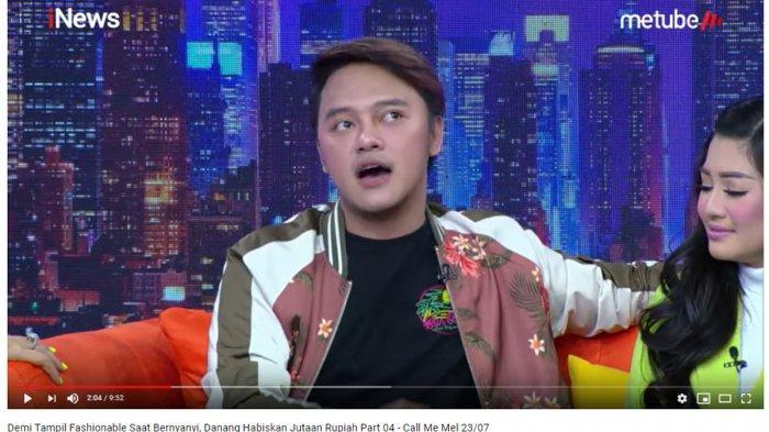 Demi Tampil Fashionable saat Manggung, Danang Rela Habiskan Jutaan Rupiah untuk Satu Baju Show