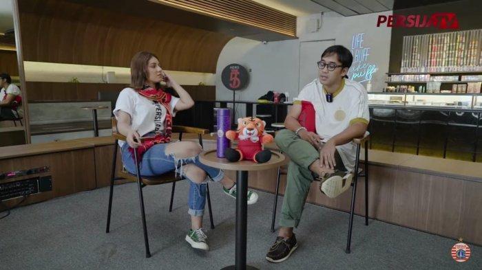 Presenter Dimas Danang saat menjadi bintang tamu di acara Kopdar.