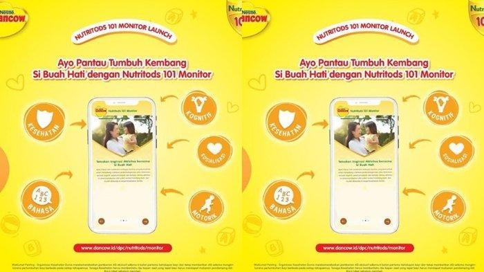 Nutritods 101 Monitor Diluncurkan, Nestlé DANCOW Dukung Bunda Pantau Tumbuh Kembang Buah Hati