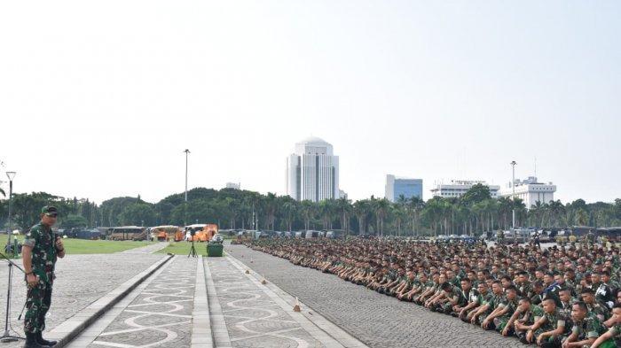 5.800 Pasukan TNI Dikerahkan Jaga Jakarta Saat Sidang Lanjutan Gugatan Pilpres 2019