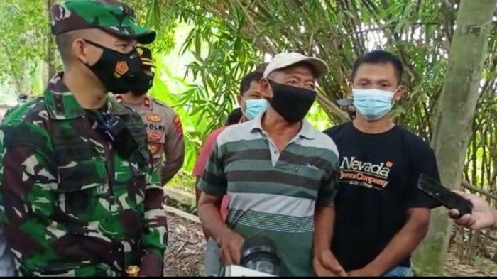 Akses Sulit Jalan Rusak dan Berlumpur, Warga Desa Jambe Sampaikan Keluh Kesah ke Dandim 0510/Trs
