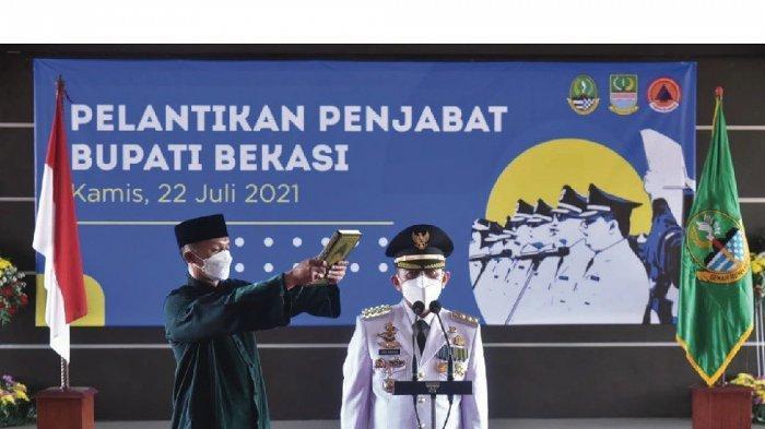 Resmi Dilantik, Ini Target 100 Hari Kerja Dani Ramdan Usai Ditunjuk Jadi Penjabat Bupati Bekasi