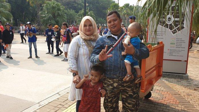SaatLaga Persija Vs Arema Jadi Hiburan Akhir Pekan Danny Bersama Keluarga dari Cikarang ke GBK