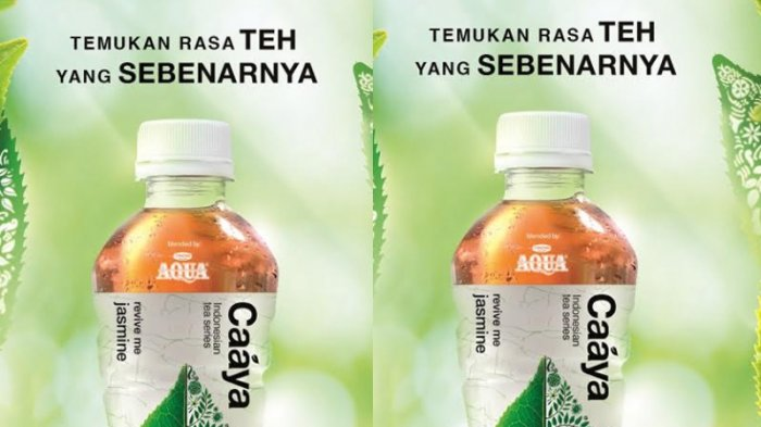 Danone AQUA Hadirkan Caaya Produk Teh Kemasan Dalam Botol, Inspirasi dari Kekayaan Budaya Indonesia