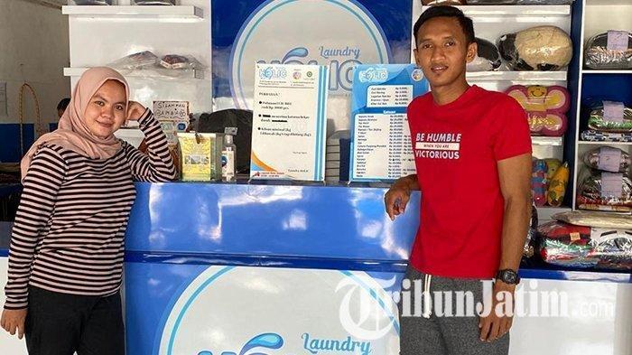Eks Persija Buka Bisnis Laundry di Kediri, Modal Ratusan Juta, Raup Untung Belasan Juta Setiap Bulan