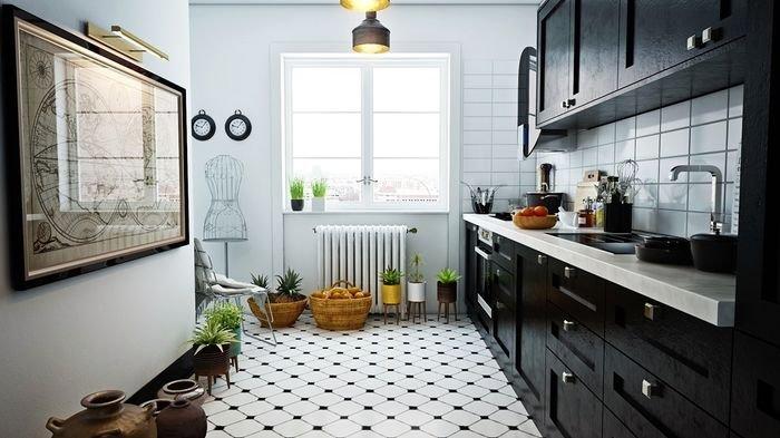 Miliki Dapur Kecil Nan Trendi, Berikut 4 Gaya yang Bisa Dicontek