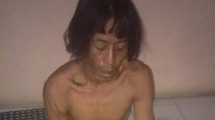 Darlis (40) ditangkap personel Unit Resmob Polres Luwu Utara, Sabtu (8/5/2021) malam