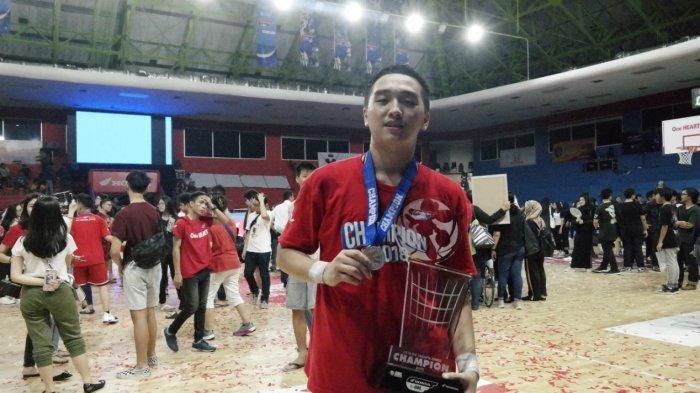 Darryl Sebastian dari SMA Bukit Sion Menjadi Pemain Terbaik Honda DBL DKI Jakarta Championship