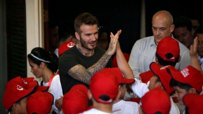 David Beckham Sampaikan Pesan Untuk Anak-anak Korban Gempa dan Tsunami di Palu