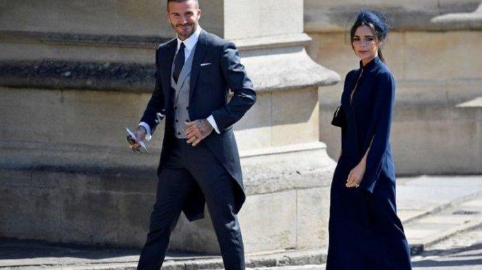 Donasi untuk Badan Amal, David Beckham dan Victoria Lelang Busana yang Dipakai Saat Royal Wedding