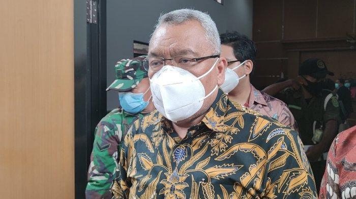 David Tobing, Advokat yang menggugat artis Raffi Ahmad atas perbuatan melawan hukum di Pengadilan Negeri Depok, Cilodong, Rabu (27/1/2021).