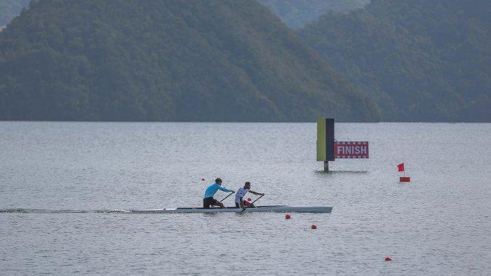 Final Cabor Dayung Nomor Canoeing PON Papua: Basuki Hadimuljono Hadir dan Beri Medali ke Pemenang