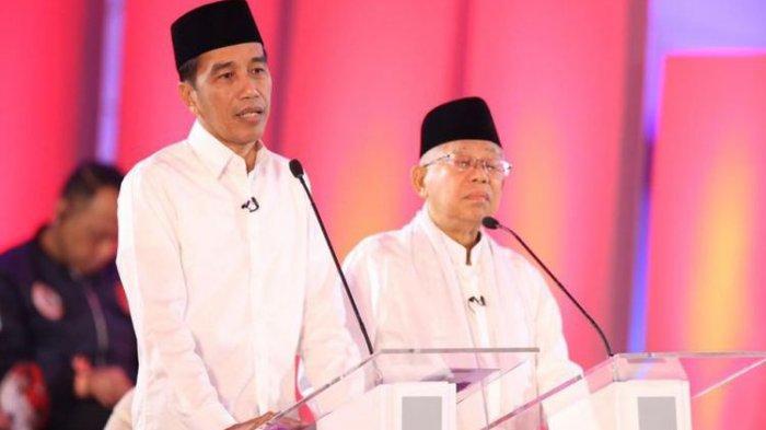 Sah, Hasil Rekap KPU Jokowi-Ma'ruf Pemenang Pilpres 2019 Perolehan Suara 85.607.362