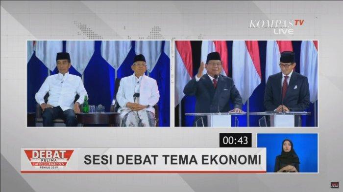 Beda Tanggapan: Prabowo Mengaku Menang, Jokowi Tunggu KPU, Ini Pidato Keduanya