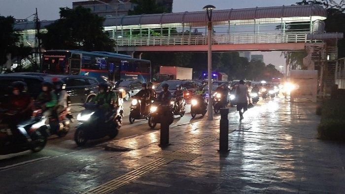 Gagal Mencuri Motor di Parkiran Dekat Plaza Kenari Mas, Saksi: Untung Langsung Ditarik