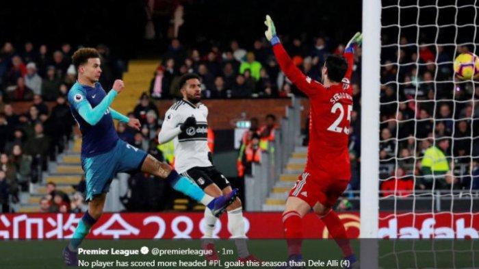Dua Gol Tandukan Bikin Tottenham Hotspur Menang Dramatis atas Fulham