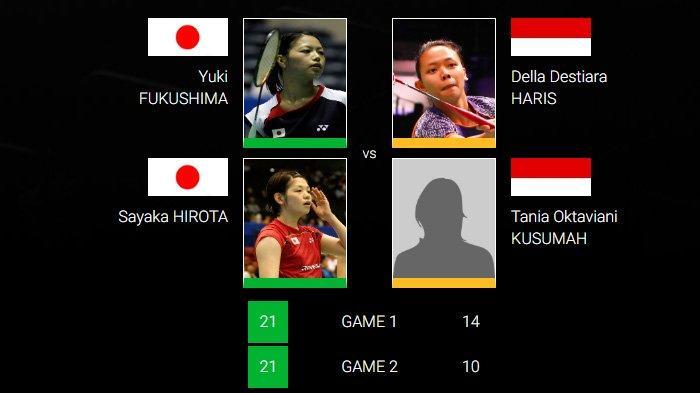 German Open 2019: Della/Tania Takluk dari Pasangan Jepang