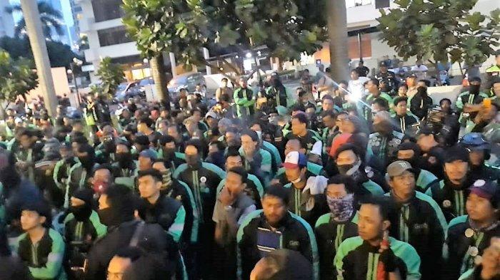 Hari Ini, 5.000 Driver Ojek online Akan Unjuk Rasa di Depan Istana Merdeka