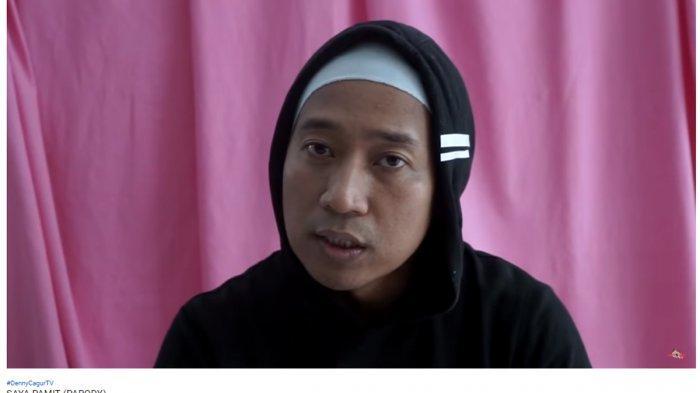Tak Mau Kalah dari Ria Ricis, Denny Cagur Unggah Vlog 'Saya Pamit' Parodi, di Kanal YouTubenya