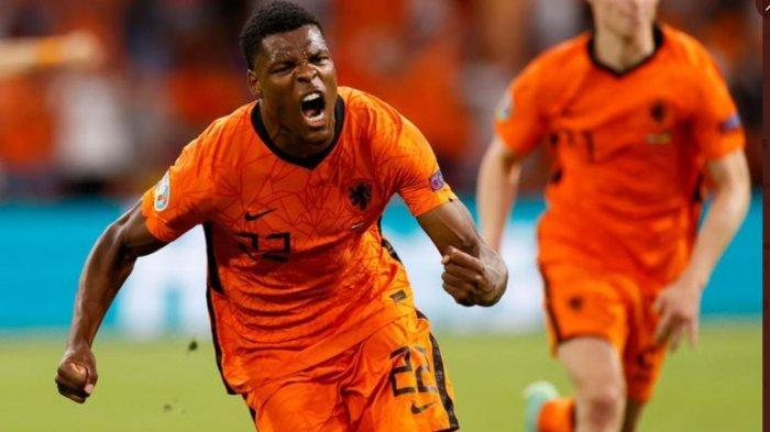 Hasil Euro 2020: Drama 5 Gol, Belanda Menang Lawan Ukraina di Laga Perdana