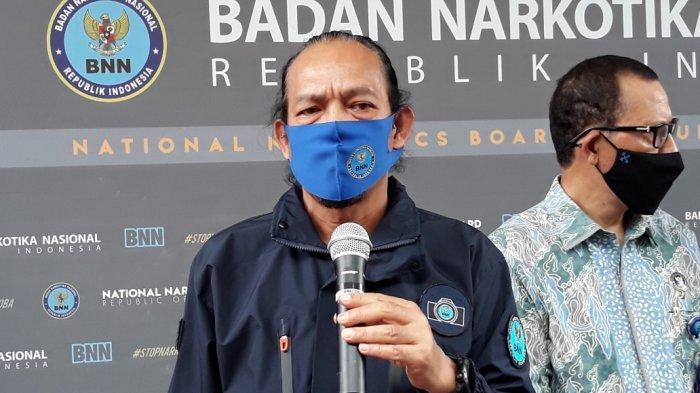 Deputi Pemberantasan BNN Irjen Arman Depari saat memberi keterangan di kantor BNN, Jakarta Timur, Rabu (5/8/2020).