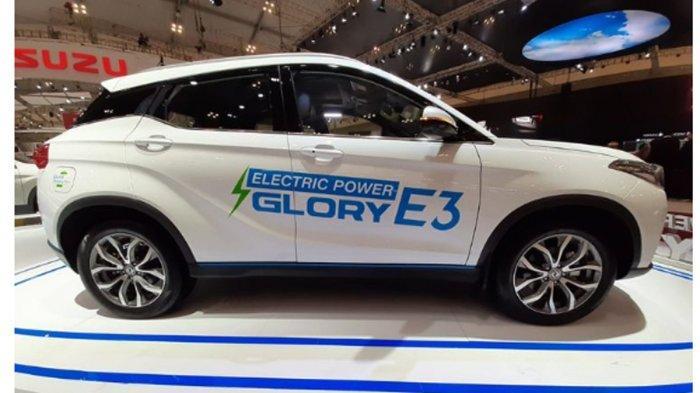 DFSK Kenalkan Mobil Listrik Fast Charging Glory E3, Intip Spesifikasi dan Keunggulannya!
