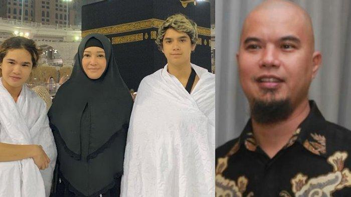 Malam Sebelum Ahmad Dhani Bebas, Maia Estianty dan Irwan Mussry Lakukan Hal Ini Bersama Tiga Anaknya