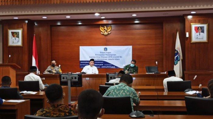 Persiapan Terapkan New Normal, Gugus Tugas Covid-19 Jakarta Utara Ajak Diskusi Pengelola Mal & Pasar
