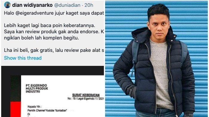Rezeki Nomplok YouTuber Dian karena Surat Cinta Eiger, Berkah Tak Terduga dari Arief Muhammad