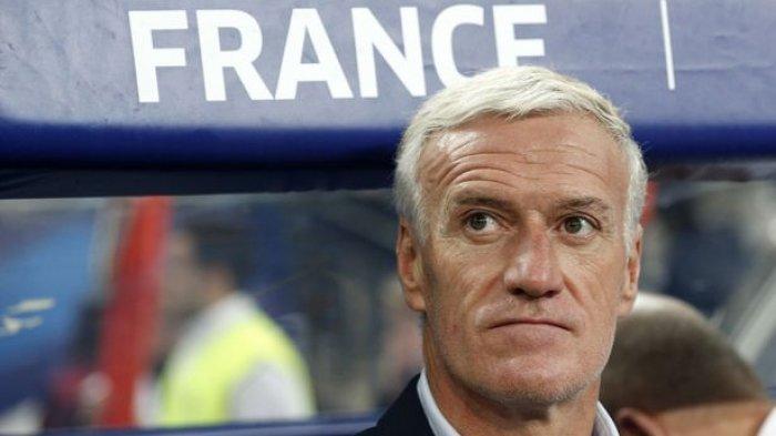 Tak Peduli Masa Lalu, Pelatih Didier Deschamps Ingin Perancis Buat Sejarah Baru Piala Dunia 2018