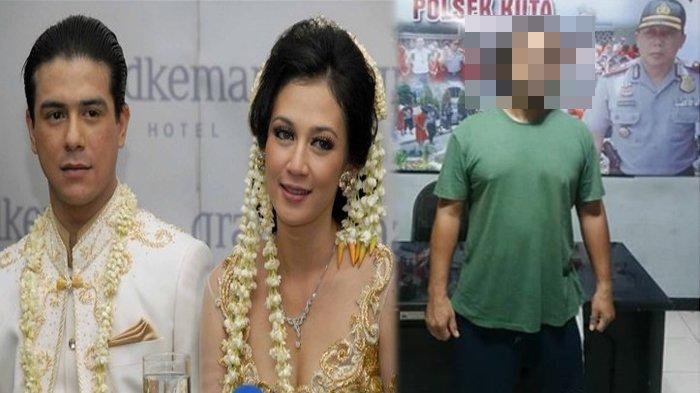 Diduga Pakai Narkoba dan Miliki Senjata Api, Suami Dina Lorenza Diciduk, Penampilannya Jadi Sorotan
