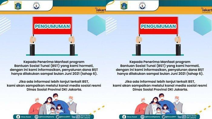 Dinsos DKI Jakarta menjawab keberlanjutan nasib BST Rp300 ribu