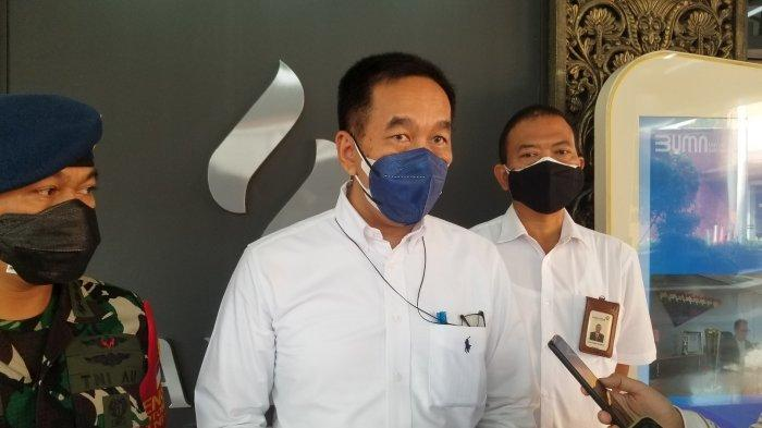 Direktur Utama PT Angkasa Pura II Muhammad Awaluddin saat ditemui di Terminal 1 Bandara Soekarno-Hatta, Jumat (9/7/2021)