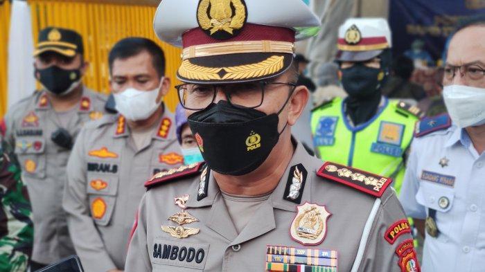 Dirlantas PMJ Apresiasi Pelaksanaan Rapid Tes Antigen di Posko Penyekatan Cilangkap Depok