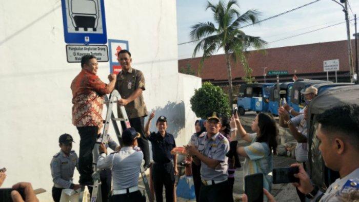 Dishub Resmikan Lima Pangkalan Bajaj di Jakarta Utara