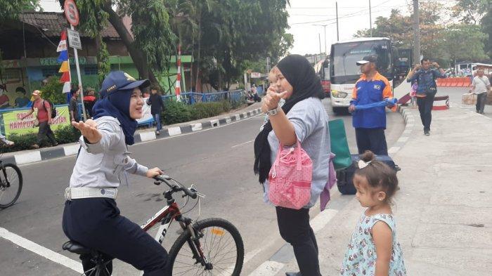 Patroli Sepeda Jadi Alternatif Olahraga Petugas di Terminal Kampung Rambutan