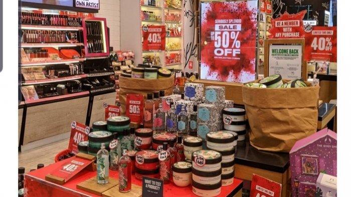 Promo The Body Shop Periode Januari, Ada Diskon Sampai 50% di Seluruh Indonesia