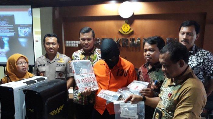 Direktorat Siber Bareskrim Polri Tangkap Empat Peretas Situs Pemerintah Provinsi Sulawesi Tenggara