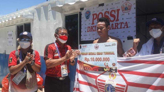 Atlet Peraih Emas di PON Papua Diguyur Uang Rp10 Juta, Ketua KONI DKI: Ini Beda Lagi Sama Bonus