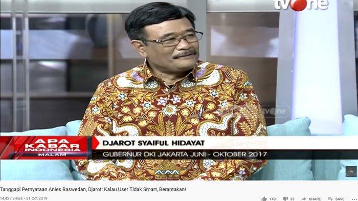 Ahok Jadi Bos BUMN Ramai Disoal, Djarot Saiful Hidayat: Dia Pasti Akan Merubah Gayanya
