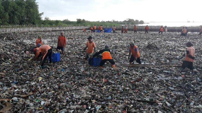 21 Ton Sampah di Teluk Jakarta Berasal dari 7 Sungai Jakarta dan 2 Sungai Kota Satelit