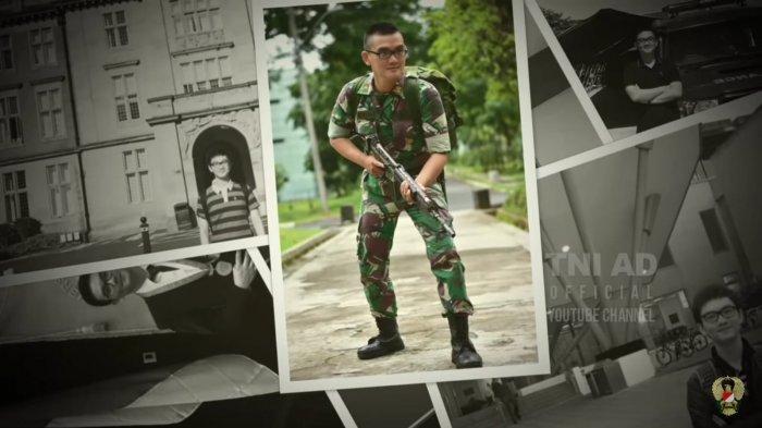 dokter Jason saat mengikuti pendidikan perwira remaja TNI TA 2021.