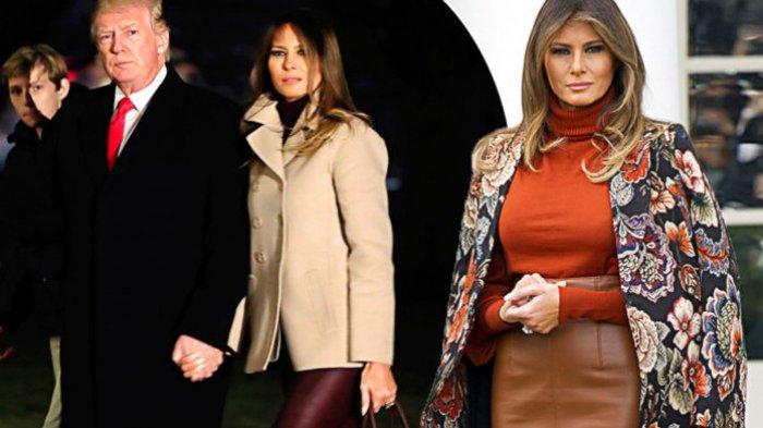 Suami Kerap Aktif di Twitter, Melania Trump 'Kutuk' Buruknya Media Sosial
