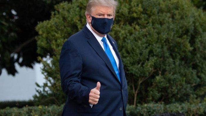 Demo Rusuh di Gedung Kongres, Trump Akhirnya Minta Pendukung Pulang