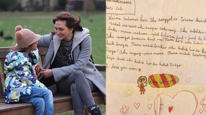 Donna Agnesia Nangis Terima Surat Putrinya di Hari Ibu, 'Terima Kasih, Mama Sudah Banting Tulang'