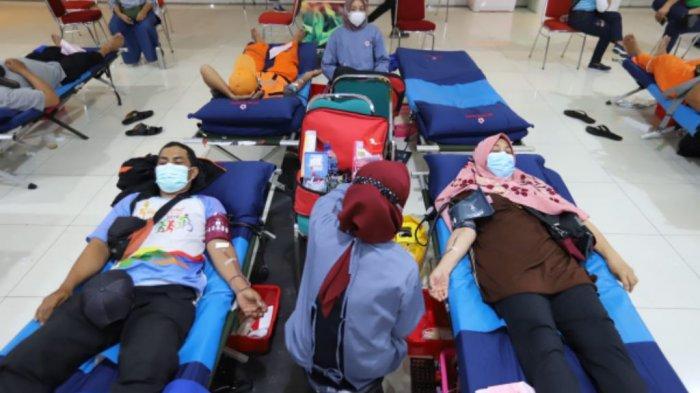 Aksi Dondarela di GOR Tanjung Priok, Pemkot Jakut Targetkan 2.500 Kantong Darah Terkumpul