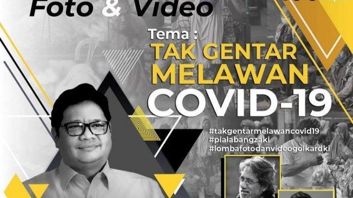Sosialisasikan Protokol Kesehatan, Golkar DKI Gelar Lomba Foto dan Video Berhadiah Rp 100 Juta