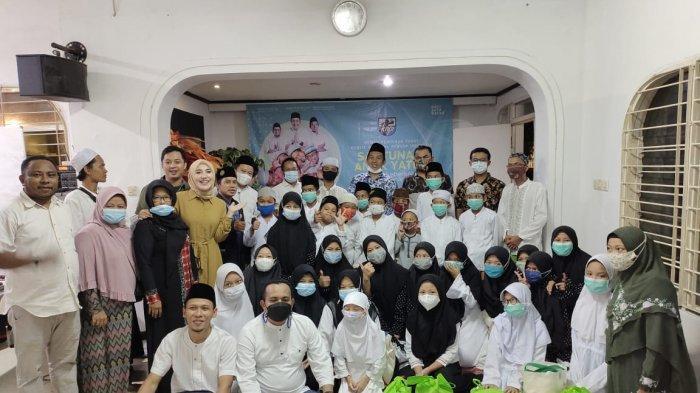 DPP KNPI Satu Nafas Berikan Santunan Anak Yatim dan Dhuafa