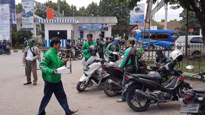 Driver Ojol di Kota Bekasi Melawan Virus Corona: Terpaksa Tetap Keluar Rumah Demi Anak Istri